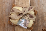 Gift Set - Handcrafted Soap Dish & Felted Soap